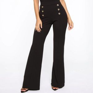 Pants - Button High Rise Pants